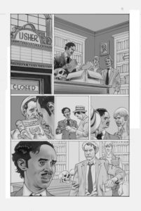 Kolchak: The Poe Cases, Chapter Five, Page 1; Art by Jim Fern