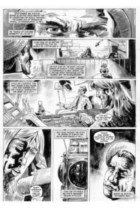 Kolchak: The Poe Cases, Chapter One, Page 1; Art by Luis Czerniawski