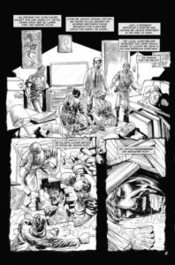 Kolchak: The Poe Cases, Chapter One, Page 2; Art by Luis Czerniawski