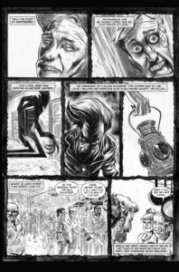 Kolchak: The Poe Cases, Chapter One, Page 3; Art by Luis Czerniawski